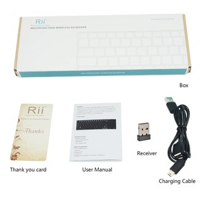 Image 5 - English Keyboard Rii mini K12+/i12+ Wireless Keyboard and  K12+ Bluetooth Keyboard with Touchpad mouse for PC Tablet Android