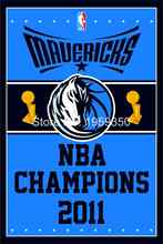 Dallas Mavericks World Champions Flag 3ft x 5ft Polyester NBA flag