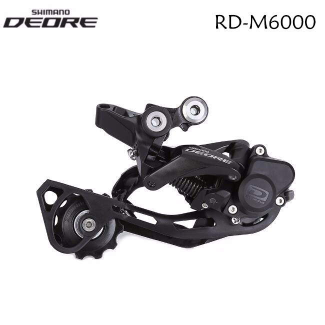 Shimano Deore RD M6000 Shadow 10 Speed MTB bike bicycle Rear Derailleur SGS Long Cage with