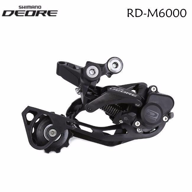 Shimano Deore RD-M6000 Shadow + 10 vitesses vtt vélo arrière dérailleur SGS longue Cage avec serrure