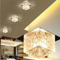 3W Modern Living Room Crystal Pendant Light Led Lamps Lighting For Home Decoration AC85 265V Diameter