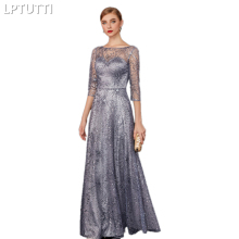 LPTUTTI Sequin Gratuating For Women Elegant Evening Dresses