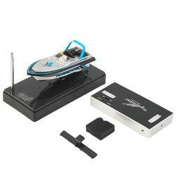 Hot! portátil Micro Rádio RC Barco de Corrida de Alta Velocidade Lancha de Controle remoto Elétrico Menino Brinquedo Do Miúdo Presente Novo Venda