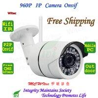 WIFI 720P IR Security Bullet ONVIF Waterproof Night Vision P2P IP Cam IR Cut 1 0MP