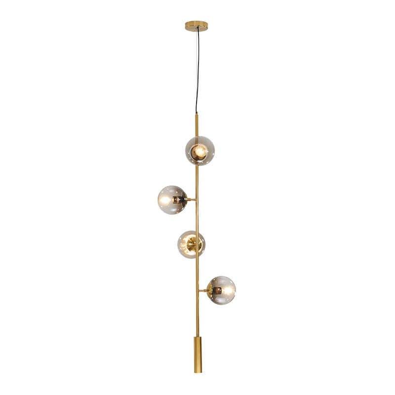 Винтажный круглый шар промышленный Лофт железный подвесной светильник сотовый Mordern droplight с стеклянный круглый шар классический светодиодный E27 подвесной светильник