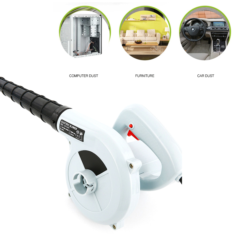 600W 220V-240v High Efficiency Electric Air Blower Vacuum Cleaner Blowing Dust Collecting 2 In 1 Computer Dust Collector Cleaner