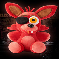 Hot! Five Nights At Freddy's 4 Plush Doll Foxy 10''Bonnie/Chica/Freddy Plush Toys Children's Christmas Gifts