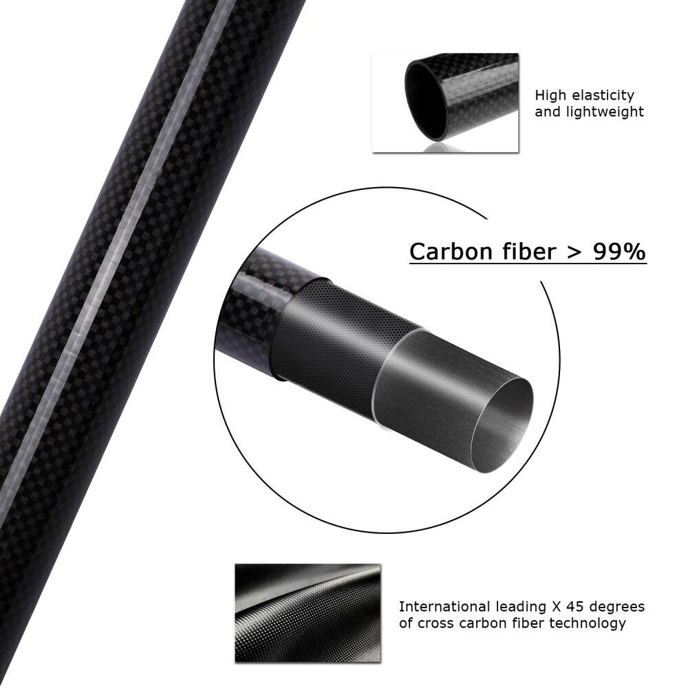 Goture Izvrsna teleskopska štap za pecanje Carbon Fiber Riblji - Ribarstvo - Foto 4