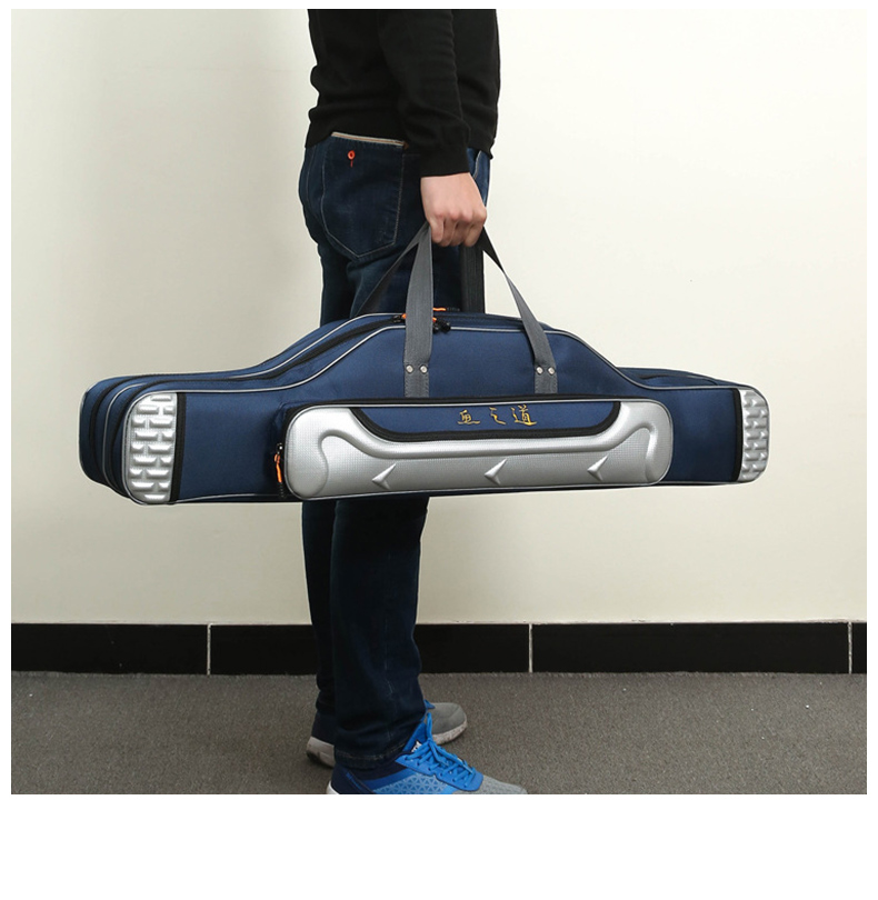 Multifuncional portátil saco de pesca lona 8090100120