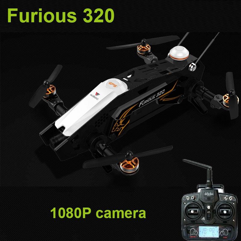Original Walkera Furious 320 +DEVO 7 transmitter with 800TVL Camera OSD CFP Modular Design FPV Racer Quadcopter Drone (NO GPS )
