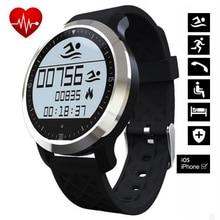 F69 Bluetooth Smart Watch Poignet Smartwatch pour Android Dispositif Portable Moniteur de Frequence Cardiaque Smartwatch Fitness
