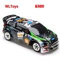 Wltoys K989 1/28 alta velocidad 4CH 4WD 2.4 GHz cepillado RC Rally Car RTR