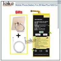 Baterii Telefonu komórkowego Do ZTE Nubia Z9 Max/Plus NX510J 3000 mAh Bateria Wewnętrzna Wymiana Dla ZTE Z9 MAX/oraz Baterii Do Telefonów Komórkowych