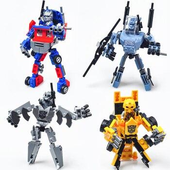 De Coche Con Para Transformación Niños Juguetes Compatible 15 Decapticons Legoing Cm Optimus Regalo Robot Bumblebee Prime Megatron dBQrthsCx