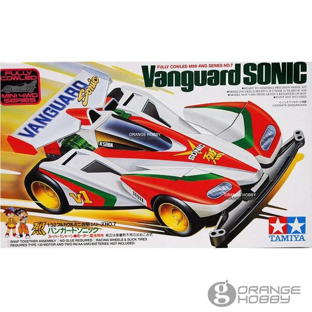 1d9a43378a1f OHS Tamiya 1 32 Mini 4WD Vanguard Sonic (Super 1 Chassis) Assembly plastic  Model Kits