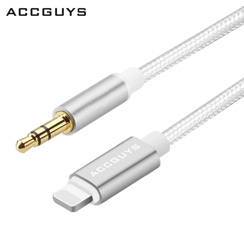 accguys lighting cable to jack audio cable car aux. Black Bedroom Furniture Sets. Home Design Ideas