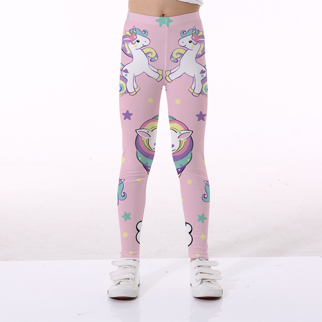 Unicorn Girls Leggings
