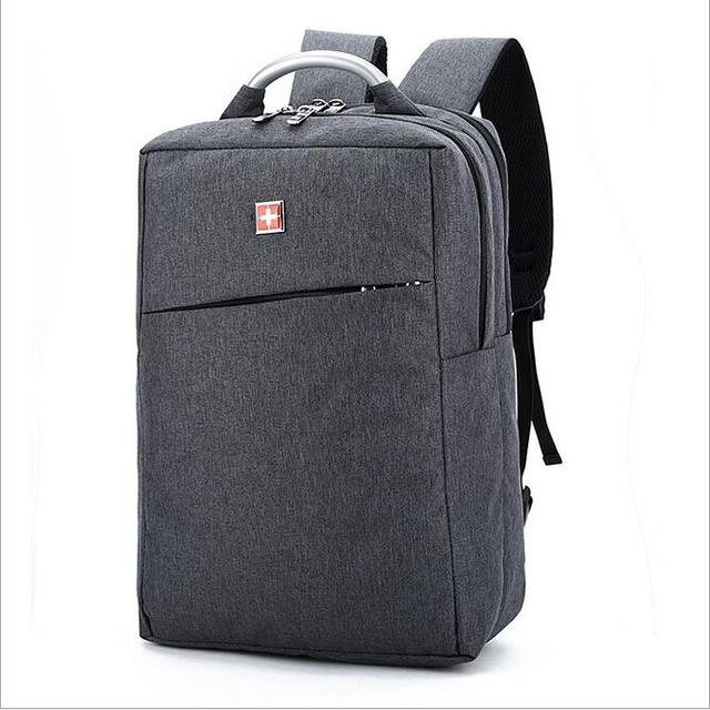 2016 Brand High-quality fabric waterproof nylon backpack men and women universal men's backpack laptop ladies 14-inch laptop bag
