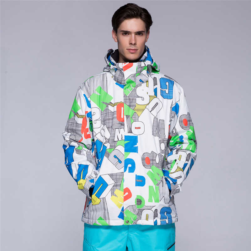 新しい男性冬防水ハイキングコート屋外スーツジャケット男性スノーボードジャケットスキースーツ男性雪のジャケット送料無料