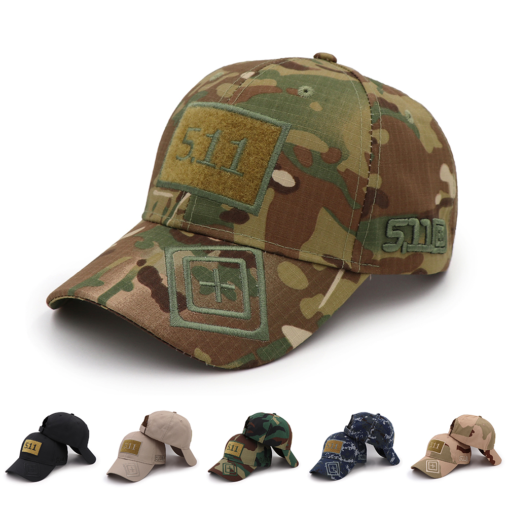 KOEP 2018 Armee Camouflage Baseball Kappe 511 Taktische Caps Outdoor-Sport-Training Hysterese Hut Dschungel Camo Jagd Hüte Für Männer