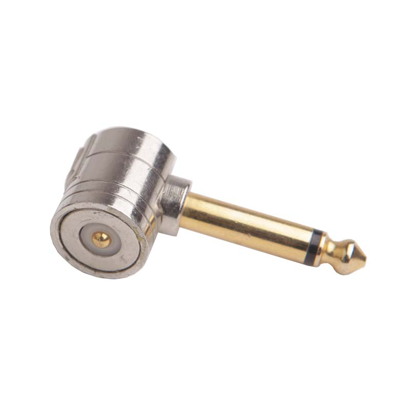 High quality magnetic connector right 1/4 plugs with gold plated 6.5 plug for SNAP JACK GUITAR CABLE areyourshop hot sale 50 pcs musical audio speaker cable wire 4mm gold plated banana plug connector