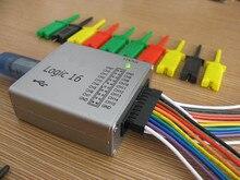 USB Analizador Lógico 100 M max frecuencia de muestreo, 16 Canales, muestras 10B, MCU, ARM, FPGA herramienta de depuración súper Osciloscopio