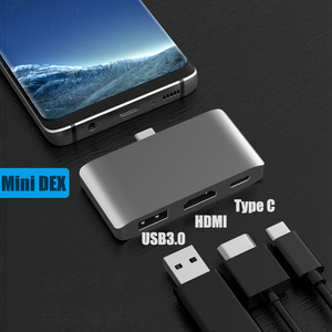 Image 5 - BFOLLOW 3 in 1 Dex Station for Samsung S8 S9 S10 Plus / Note 8 9 10 Pro Pad PD Adapter Type C to HDMI for Huawei