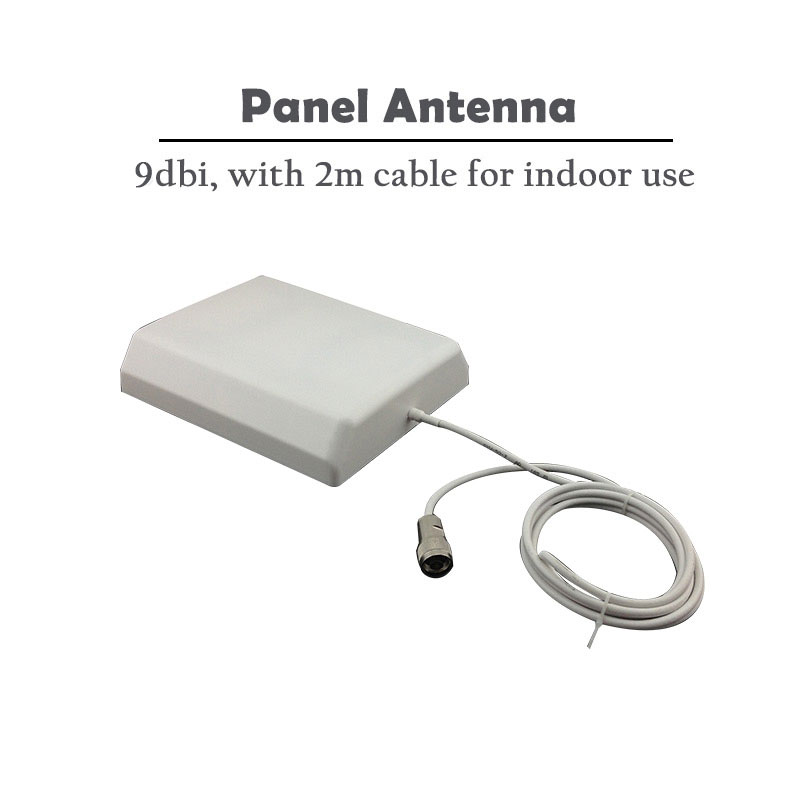 9dBi Panel Indoor Antenna 700-2700mhz N Male 2m Cable For GSM 900 850 1800 UMTS 1900 2100 4G LTE 2600 Signal Booster Antenna #15