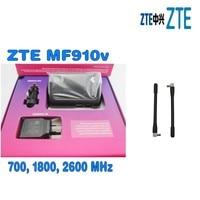 UNLOCKED Telstra ZTE MF910V Wifi 3G 4G 4GX Mobile Broadband Pocket Modem Prepaid With Car Kit