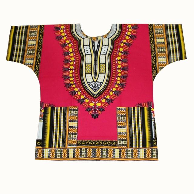 Dashiki T-Shirt Africain Unisexe