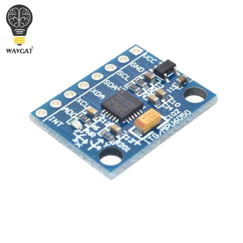 Wavgat GY-521 MPU-6050 mpu6050 módulo 3 eixos giroscópio analógico sensores + 3 eixos acelerômetro módulo. nós somos o fabricante