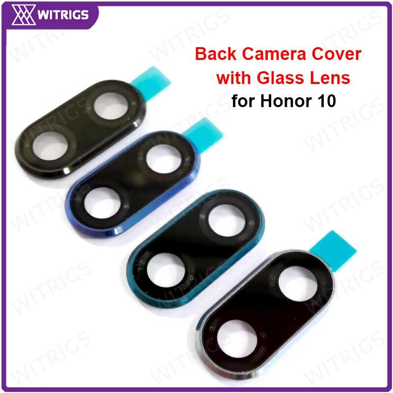 Witrigs задняя крышка камеры задняя камера круг корпус со стеклянным объективом для huawei Honor 10