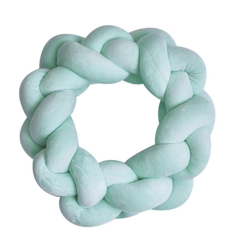 Handmade Knot Cushion Knotted Ball Pillow Kids Bed Pillows Stuffed Toys Children Nursery Room Decor Girl Gifts 3