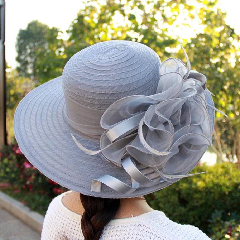 Chapeau Floral Derby