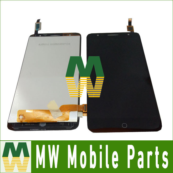 ФОТО 1pc/lot High Quality For Alcatel One Touch Pop4 pop 4 5056a 5056 OT5056 LCD Screen And Touch Screen Assembly