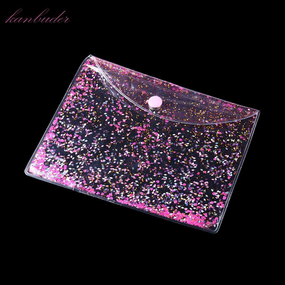 Kanbuder Maquiagem Saco das senhoras das Mulheres Saco de Viagem Bag Caso Cosmetic Makeup Bolsa de Higiene Pessoal Melhor Carteira Transparente compõem sacos de viagem