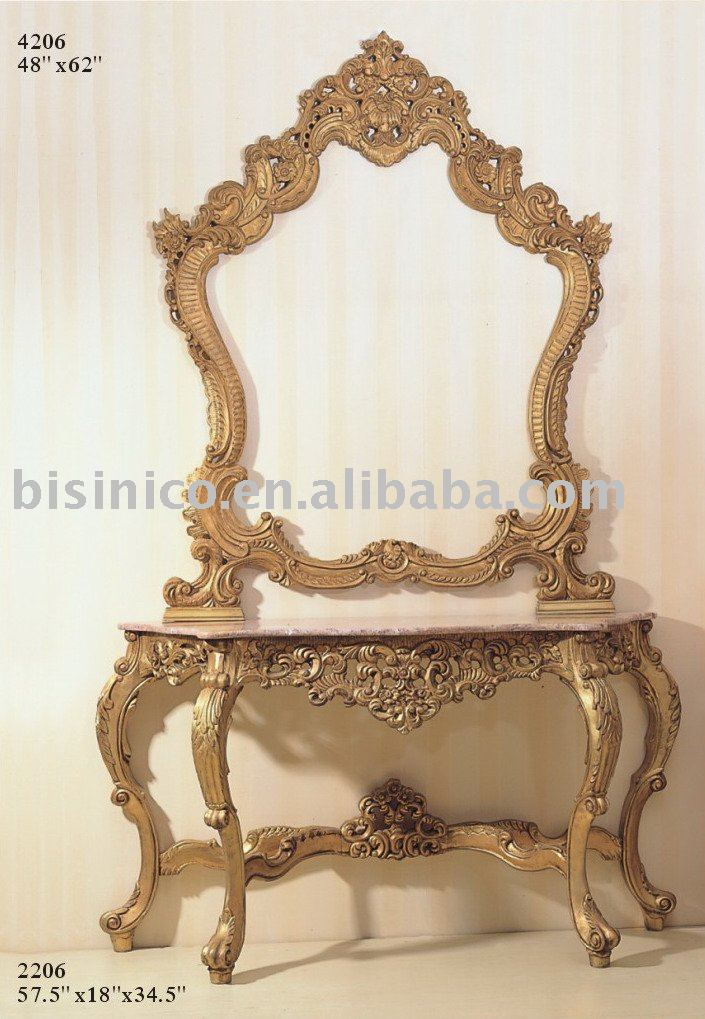 American solid wood console table and mirrorconsole table setsAmerican antique furniture-in Console Tables from Furniture on Aliexpress.com | Alibaba ... & American solid wood console table and mirrorconsole table sets ...