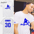 Moda t shirt homme 2017 nba mvp basketbal camiseta stephen curry jersey camiseta más el tamaño de la marca de clothing, tx2385