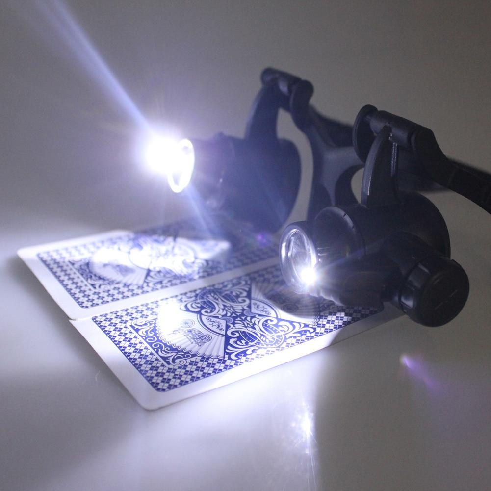 10/15/20 / 25X LED Lupa Lupa Lupa de trabajo Lectura de trabajo - Instrumentos de medición - foto 2