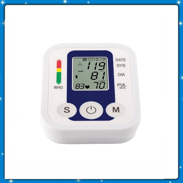 Health Care Automatic Digital Live Voice Arm Blood Pressure Monitor JZK-B869 Tester Heart Beat Meter Monitor Sphygmomanometer