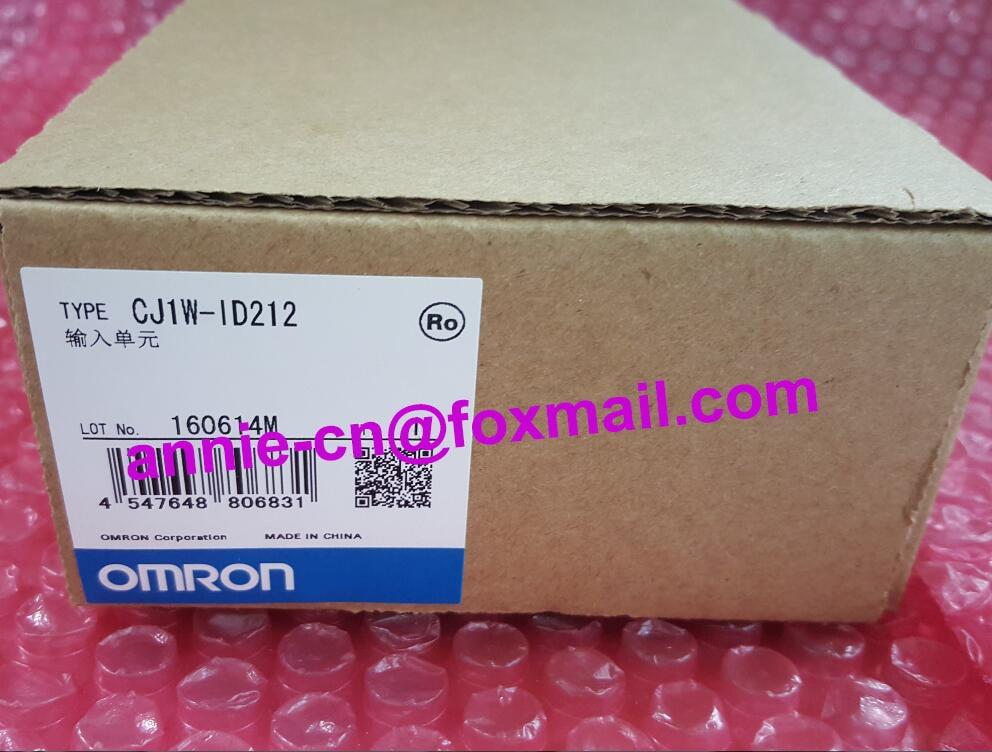 CJ1W-ID212  New and original  OMRON PLC CONTROLLER  Input unit new in box for omron processor cj1w id211 plc input unit