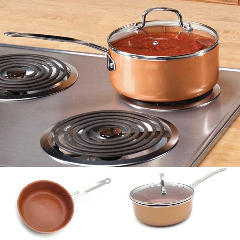 Antiaderente In Alluminio Rivestito In Ceramica Pentolame e Utensili per cucinare zuppa e magazzino pentole con Induzione Compatibile e Lavastoviglie Pentolame e Utensili per cucinare strumenti