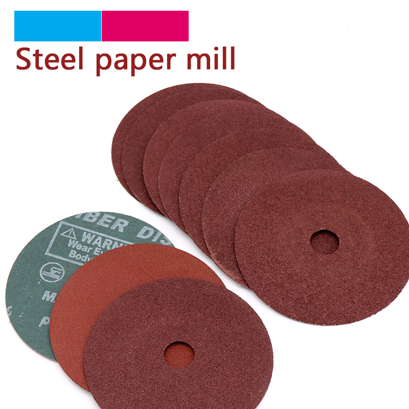 5pcs 100mm Steel Grinding Pads Angle Sandpaper Polishing Discs Metal Buffing Sanding Disc 4 Inch For Metal Tool Accessories