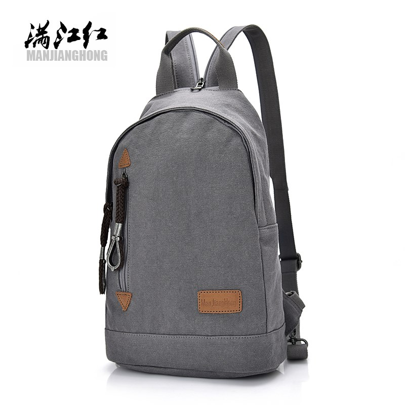 Men 's leisure backpack canvas shoulder bag male Korean version of student bags travel anti - theft backpacks oxford bag korean version of the female students shoulder bag large capacity backpack canvas backpacks