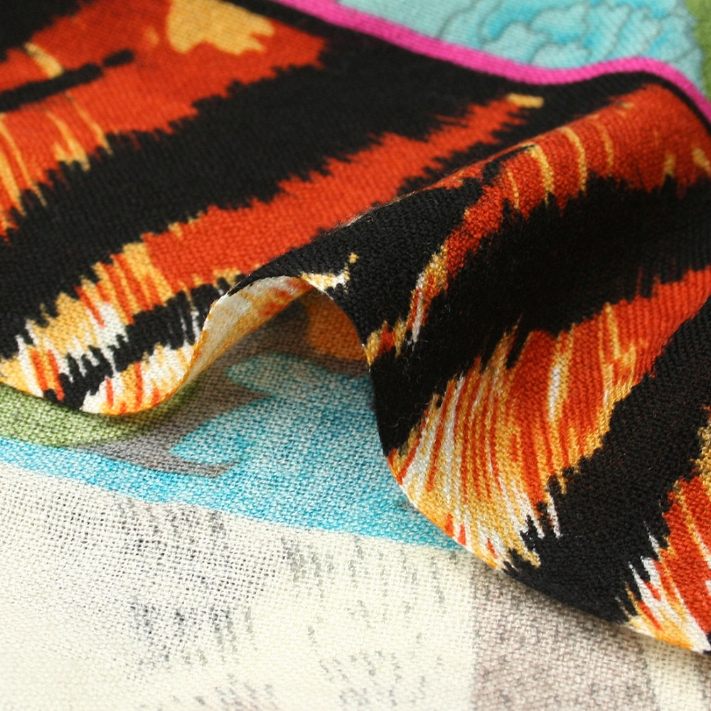 Marque de luxe Plaid cachemire hiver femme Poncho écharpe femme surdimensionné couverture d'emballement laine Cape femmes Pashmina châles et écharpes - 6