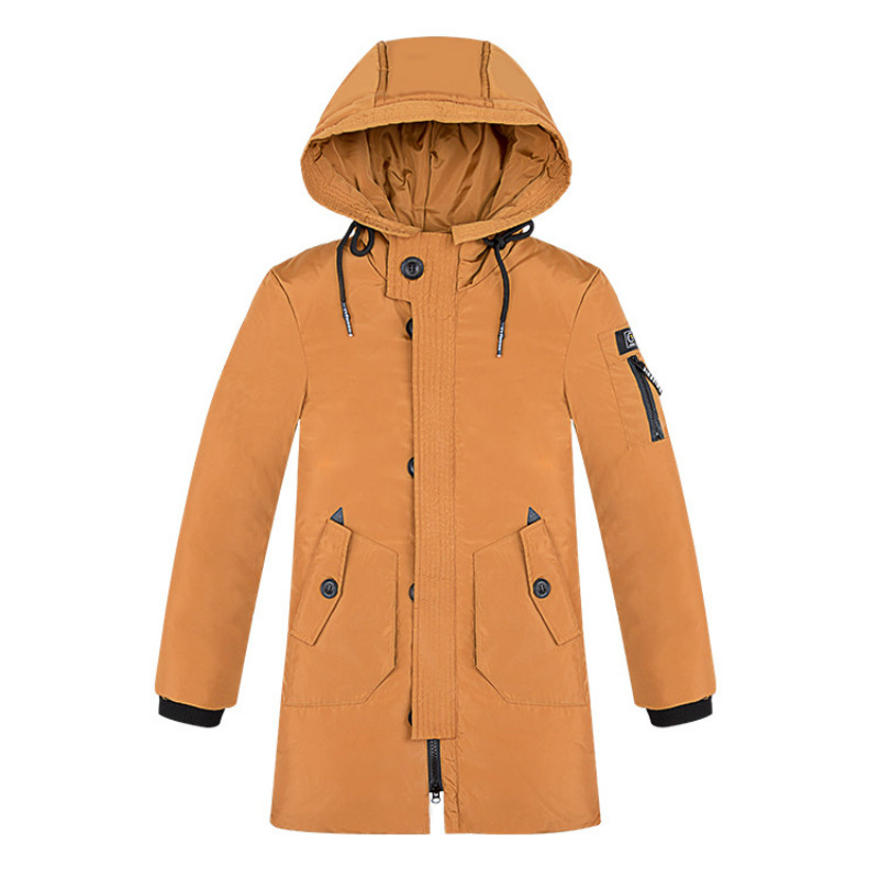 winter childrens wear cap medium and long children large and medium  down jacket Korean version thickening down jacketwinter childrens wear cap medium and long children large and medium  down jacket Korean version thickening down jacket