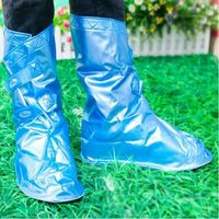 Blue Or Pink Adjustable Rain Shoe Cover S M L Three Sizes