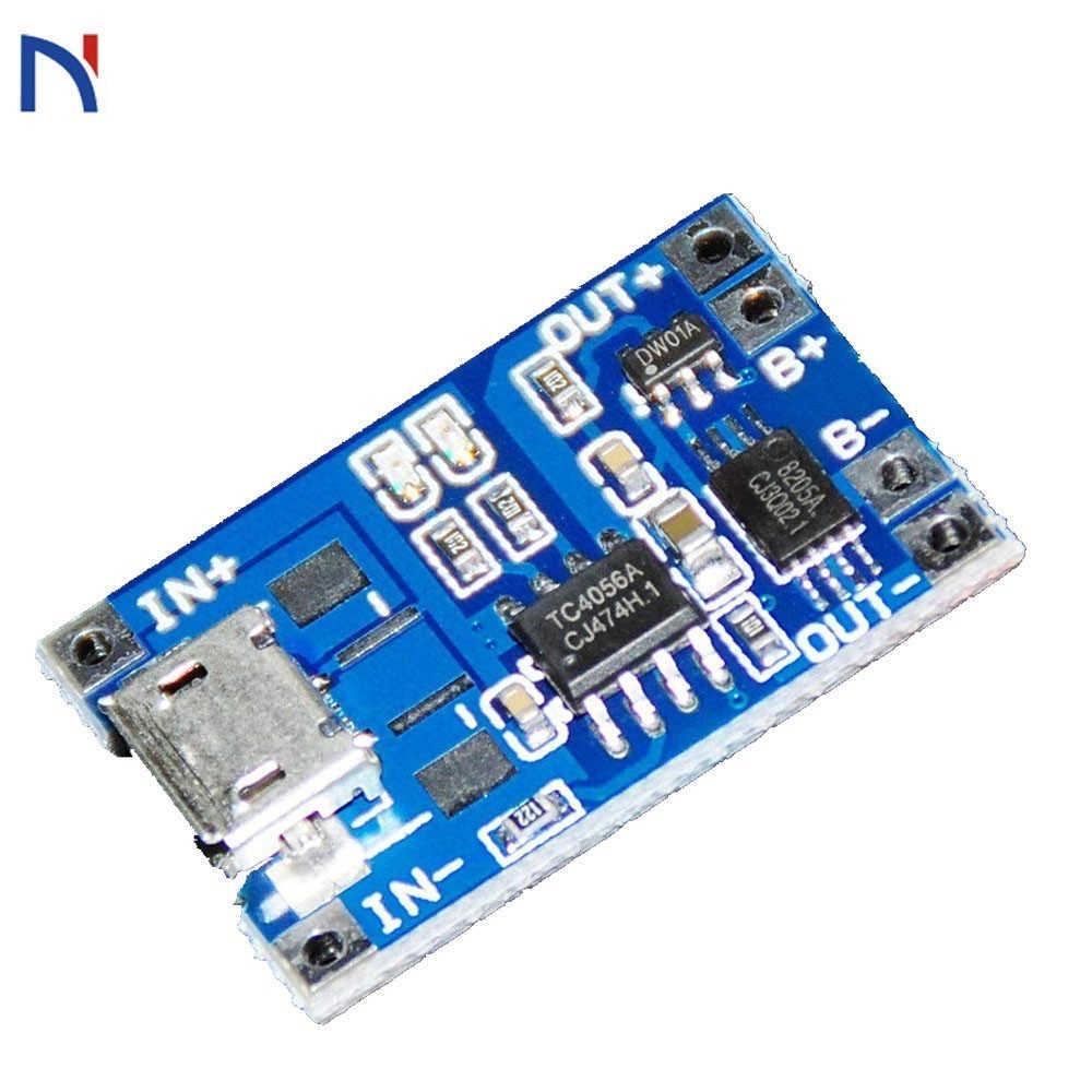 TP4056 5V 1A Micro USB 18650 литиевая батарея зарядная плата зарядное устройство модуль защиты двойные функции TP4056