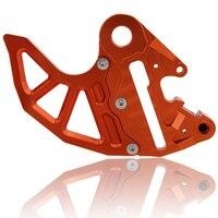 Orange Motorcycle CNC Billet Rear Brake Disc Guard Fits For KTM 125 530 SX SX F
