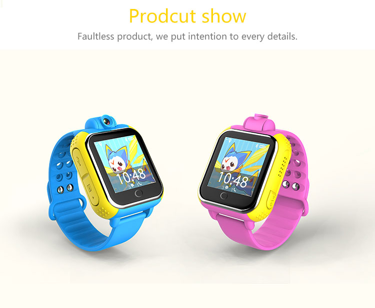 GPS smart watch Q730 baby watch with Wifi 1.0 inch touch screen SOS Call Location Device Tracker for Kid Safe  iOS Android gps smart watch q750 q100 baby gps smart watch with 1 54 inch touch screen sos call location device tracker for kid safe pk q80